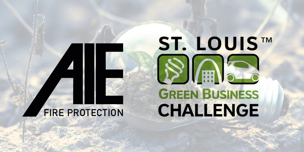 St. Louis Green Business Challenge: AIE Wins Award of Achievement for 2019