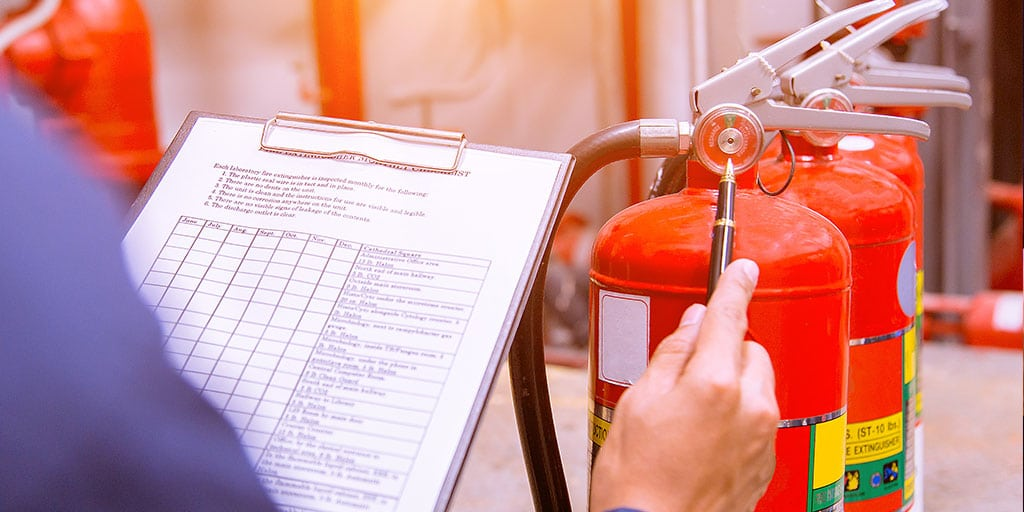 Fire Safety in Retail Stores: Ensure routine fire equipment servicing & maintenance