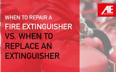 When to Replace a Fire Extinguisher vs. Recharge a Fire Extinguisher