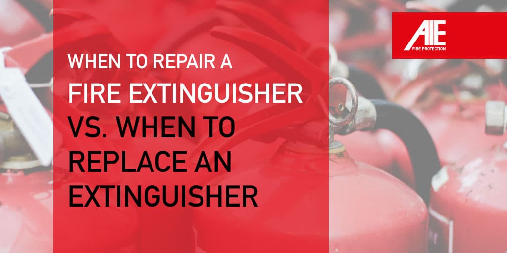 Guide to Fire Extinguisher Inspections: When to Replace a Fire Extinguisher vs. Recharging Fire Extinguishers