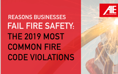 Reasons for Fire Safety Fails: The Most Common Fire Code Violations Found in Businesses