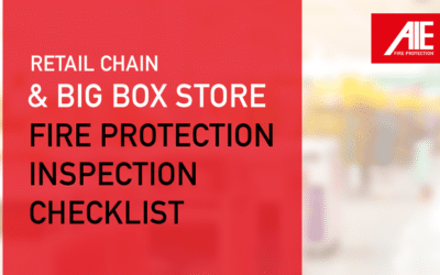 Big Box & Retail Fire Safety Inspection Checklist for Employees
