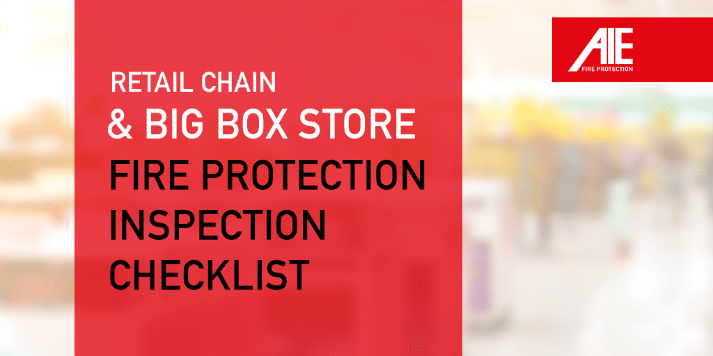 Big Box & Retail Store Fire Inspection Checklist for Employees: Guarantee Fire Safety in Retail Stores
