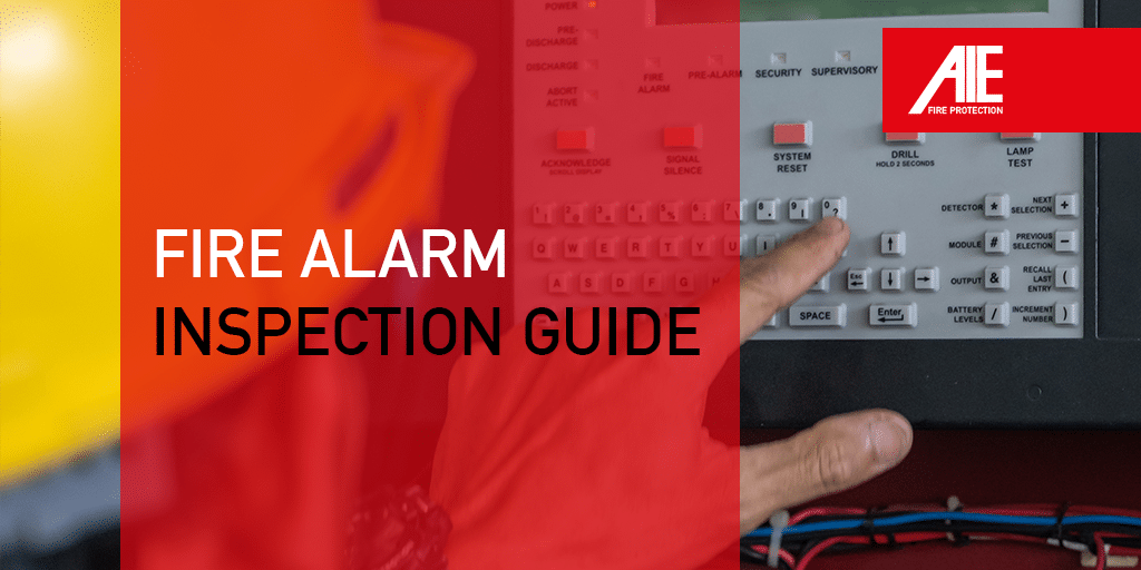 Fire alarm inspection guide