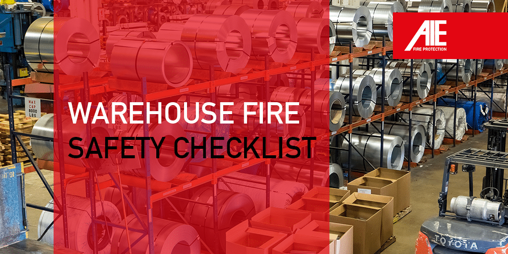 Warehouse Fire Safety Checklist